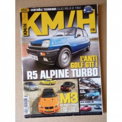 KM/H n°38, Volkswagen Polo G40, Daihatsu Copen, Renault 5 Alpine Turbo, Peugeot 207 RC, BMW M3, Autobianchi A112 Abarth