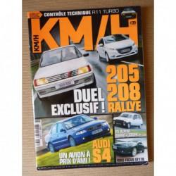 KM/H n°39, Toyota Corolla IX 190, Triumph Vitesse, Ford Focus ST170, Audi S4 B5, Seat Ibiza SC Cupra, MG ZR