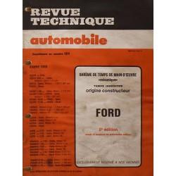 Temps de réparation Ford années 70 et 80 (3ème édition)