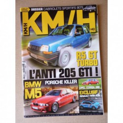 KM/H n°43, Renault 5 GT Turbo, VW Beetle TSI, Rover 3500, Vauxhall Viva, BMW M5 E39, Opel Corsa Gsi, Ford Escort XR3i