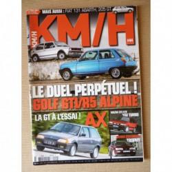 KM/H n°44, Citroën AX Sport, GT GTI, Mazda 323 GTX, DAF Marathon, Peugeot 205 GT, Ford Sierra Cosworth, Mercedes A45