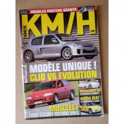 KM/H n°45, Matra Bagheera, Skoda 110 120, Escort RS2000, Beetle RSI, Renault Clio V6, Kei Jidosha, Honda Beat, Cortina Lotus