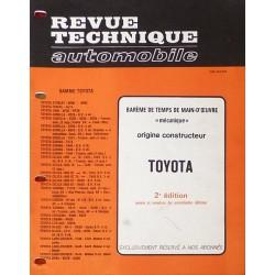 Temps de réparation Toyota années 70 (2ème édition)