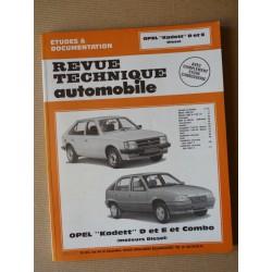 RTA Opel Kadett D et E, Diesel