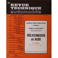 Temps de réparation Volkswagen, Audi années 60 et 70 (2ème édition)