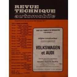 Temps de réparation Volkswagen, Audi années 60 et 70 (1ère édition)