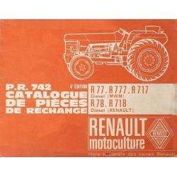 Renault Master 1 et 2, TP et 4x4, catalogue de pièces