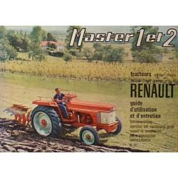 Renault Master 1 et 2, TP et 4x4, notice d'entretien