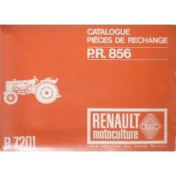 Renault Super 2D et Standart 4, catalogue de pièces