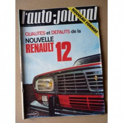 Auto-Journal n°490, Renault 12, Dune-Buggy, Matra MS80, Caravelair Comores