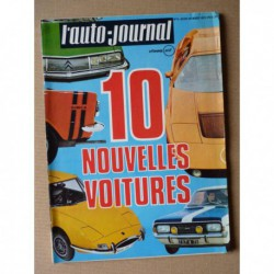Auto-Journal n°6-70, Opel Commodore A GS/E, Sunbeam 1250 1500