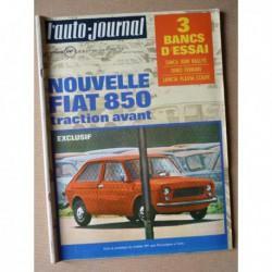 Auto-Journal n°9-70, Simca 1000 Rallye, Lancia Flavia Coupé, Ferrari Dino, Constructam Coral T, Thompson-CSF