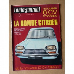 Auto-Journal n°14-70, Fiat 130, Austin Morris 1300GT, Hispano-Suiza H6B 32cv, Honda CB350