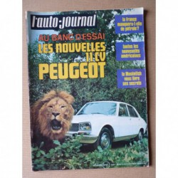 Auto-Journal n°21-70, Moskvitch 412, Peugeot 504 11cv, Moskvitch, Steve McQueen, Mauro Forghieri