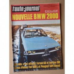 Auto-Journal n°4-71, Peugeot 504 Diesel, Opel Manta A 1.6l 1.9l, Fiat 500L, 24h de Daytona, BSA 650