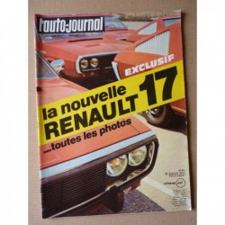 Auto-Journal n°14-71, Mazda RX2, Renault Rodeo ACL, Morgan, Renault 17, Citroën M35, Carrez Alpina 405