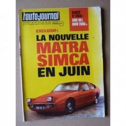 Auto-Journal n°4-73, Audi 80L B1, Lamborghini Urraco, BMW 2000Tii Touring, Constructam Coral 3T, Ténéré en Citroën 2cv