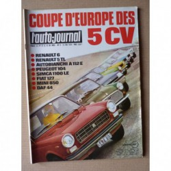 Auto-Journal n°9-74, Mazda 929 coupé, Bentley S3, Ford Transit Villard FT80