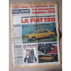 Auto-Journal n°487, Fiat 128, Renault 6, Caterpillar C641, Tour de France auto