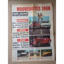 Auto-Journal n°435, Alfa Romeo Spider Duetto, Matra 530, Fiat Vignale Gamine, Ford 17M 20M, Siata Sprint, Lambretta Willam