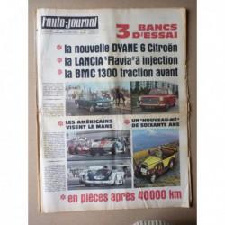 Auto-Journal n°449, Citroën Dyane, Morris 1300, Lancia Flavia 1800, Hispano-Suiza 30cv, 60 ans de japonaises