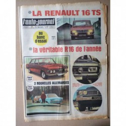 Auto-Journal n°453, Renault 16 TS, Opel Commodore GS A, Toyota Crown, Tatra, Jim Clark