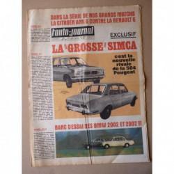 Auto-Journal n°469, BMW 2002 et 2002TI, Citroën Ami 6 vs. Renault 6, Delage C60