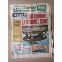 Auto-Journal n°368, Ford Mustang V8, Renault 16 1965, Delage D8S