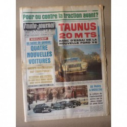 Auto-Journal n°370, Ford Taunus 20MTS, Vauxhall Kington 23/60, Paris-Moscou en R4
