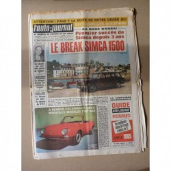 Auto-Journal n°373, Simca 1500 GL break