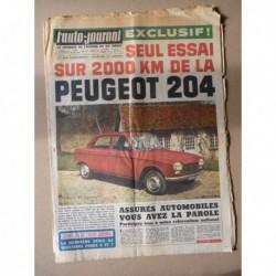 Auto-Journal n°375, Peugeot 204, Mercedes 770 Spéciale