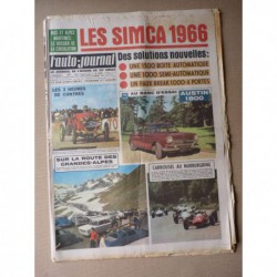 Auto-Journal n°383, Austin 1800, Opel Kadett B, Mini Moke, Matra-Sport