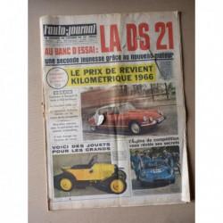 Auto-Journal n°391, Vauxhall Victor 1500, Citroën DS21, Renault 10 Autobleu, Daihatsu Compagno, Mauro Bianchi, Alpine M65