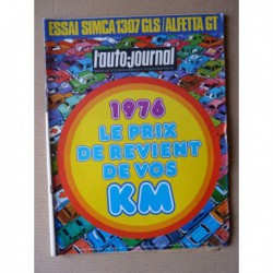Auto-Journal n°02-76, Alfa Romeo Alfetta GT, Simca 1307 GLS, Ford Taunus TC2