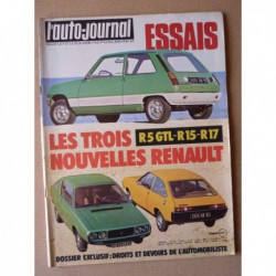 Auto-Journal n°04-76, Renault 5 GTL, Austin Princess 2200 HLS, Renault 15 et 17, Chevrolet Blazer, Peugeot 104 ZS Rallye