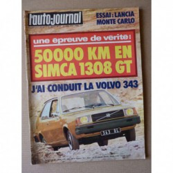 Auto-Journal n°11-76, Lancia Monte Carlo, Simca 1308 GT, Fiat 131 Abarth Rally, Volvo 343