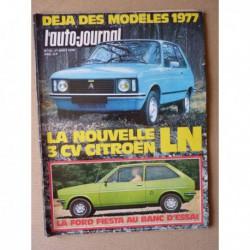 Auto-Journal n°13-76, Ford Fiesta L mk1, Peugeot 504 GLD automatique, Toyota Corolla E30
