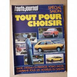 Auto-Journal n°17-76, Volvo 343 DL, Citroën CX Prestige, Lucien Rosengart, Nikki Lauda
