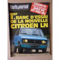 Auto-Journal n°18-76, Triumph TR7, Citroën LN coupé, Renault 5 Coupe, Renault 12