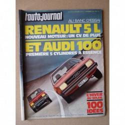 Auto-Journal n°19-76, Audi 100L, Renault 5L, Chevrolet Blazer, Ford Bronco, l'équipe Ligier, Fiat 521