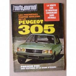 Auto-Journal n°18-77, Porsche 928, Renault 5 GTL, Pilcar, Henri Rothlisberge