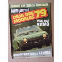 Auto-Journal n°13-78, Fiat Ritmo 65, Simca Horizon GLS, Cournil, Fiat Michelotti, Lada Niva, Volvo C202, Fiat 131 Racing