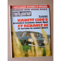 Auto-Journal n°18-79, Renault 18, Opel Kadett 1.3S, Renault 5 Turbo, Sunbeam Lotus, Rolls Royce à Cambridge
