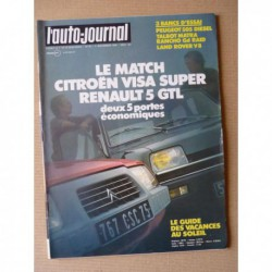 Auto-Journal n°19-79, Peugeot 505 Diesel, Matra Rancho Grand Raid, Land Rover Serie III V8, Lancia Delta, Renault 5 GTL