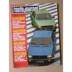 Auto-Journal n°03-80, Austin Allegro 1500 HL, Honda Prelude coupé, AMC Eagle Concord 4x4, Peugeot 505 SRD, Renault 20 GTD