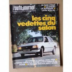 Auto-Journal n°16-80, Citroën CX 2400, Volkswagen Jetta GLI, Ligier JS4, Bretta, Mazda 323 BD, Toyota Corolla 1300 E70