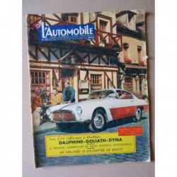 L'Automobile n°120, Skoda 440, Goliath GP900, Renault Dauphine, Panhard Dyna Z, ACMA Vespa 150cc