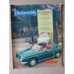 L'Automobile n°129, Borgward Isabella TS, Panhard Dyna Z, Franco Reggiani, Gilberte Thirion, Romeo, Skoda et Tatra