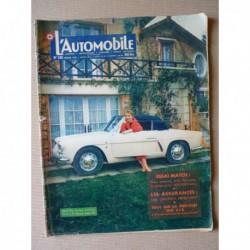 L'Automobile n°130, Goggomobil T, Mercedes 300 SLR, Avia Jawa 344cc, Renault 4cv Affaire, Citroën 2cv Luxe