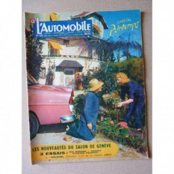 L'Automobile n°132, Sherpa 5cv Panhard, Peugeot 403 Morand Constantin, Willys Overland, Fernand Picard